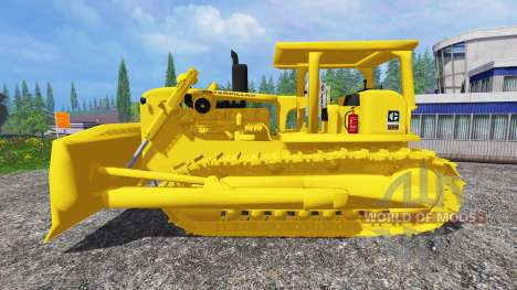 Caterpillar D9G для Farming Simulator 2015