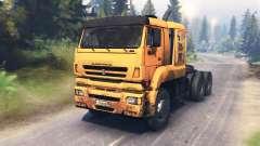 КамАЗ-65226 v3.0 для Spin Tires