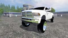 Dodge Ram 3500 2015 Crew Cab для Farming Simulator 2015