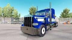 Скин Jack C Moss Trucking Inc на тягач Peterbilt для American Truck Simulator
