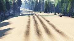 Бездорожье Краснодара для Spin Tires