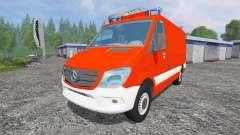 Mercedes-Benz Sprinter [einsatzleitwagen] для Farming Simulator 2015