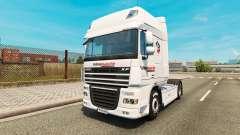 Скин Intermarket на тягач DAF для Euro Truck Simulator 2