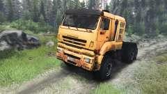 КамАЗ-65226 [03.03.16] для Spin Tires