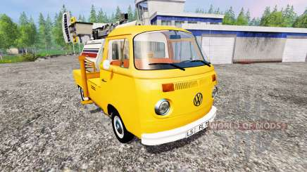 Volkswagen Transporter T2B 1972 [lighting mast] для Farming Simulator 2015
