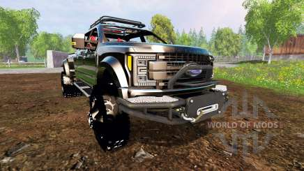 Ford F-450 2017 [custom][fix] для Farming Simulator 2015