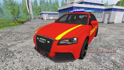 Audi RS3 8PA [feuerwehr] v0.9 для Farming Simulator 2015