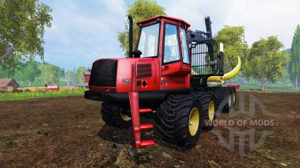 John Deere 1110D [red] для Farming Simulator 2015