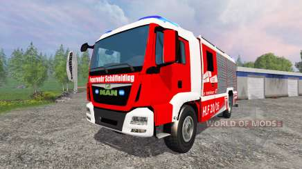 MAN TGM [firefighter] для Farming Simulator 2015