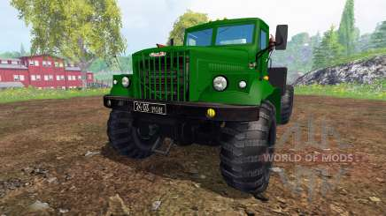 КрАЗ-255 В1 v1.2 для Farming Simulator 2015