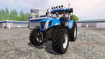 New Holland T7050 для Farming Simulator 2015