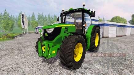 John Deere 6170R FL для Farming Simulator 2015