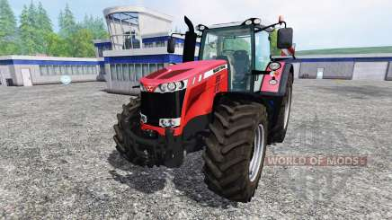 Massey Ferguson 8737 v1.1 для Farming Simulator 2015