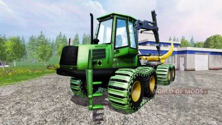 John Deere 1110D v1.2 для Farming Simulator 2015
