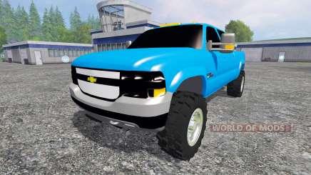 Chevrolet Silverado 2001 для Farming Simulator 2015