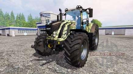Fendt 927 Vario [camouflage] для Farming Simulator 2015