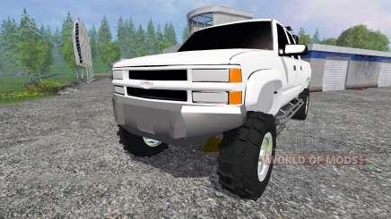 Chevrolet Silverado 2000 для Farming Simulator 2015
