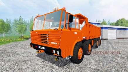 Tatra 813 S1 8x8 для Farming Simulator 2015