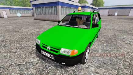 Opel Astra F Caravan [Deutz-Fahr service] для Farming Simulator 2015