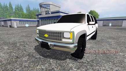Chevrolet Suburban 1998 v2.0 для Farming Simulator 2015