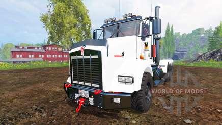 Kenworth T800 v0.96b для Farming Simulator 2015