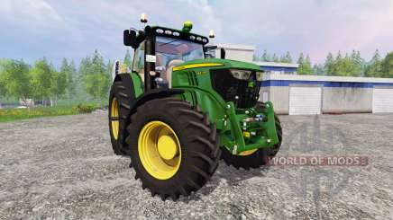 John Deere 6210R v2.1 для Farming Simulator 2015