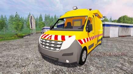 Renault Master DIR для Farming Simulator 2015