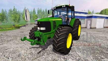 John Deere 6920 S v1.8 для Farming Simulator 2015