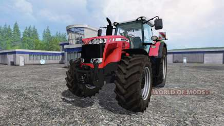 Massey Ferguson 8737 v1.0 для Farming Simulator 2015