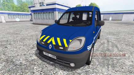 Renault Kangoo Gendarmerie для Farming Simulator 2015