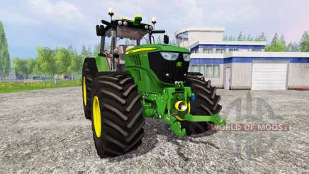 John Deere 6170M v1.0 для Farming Simulator 2015