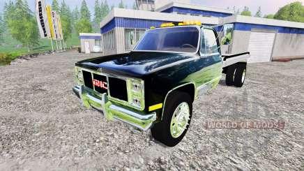GMC 3500 1986 [flatbed] для Farming Simulator 2015