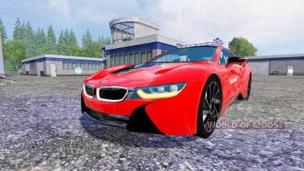 BMW i8 eDrive Feuerwehr для Farming Simulator 2015