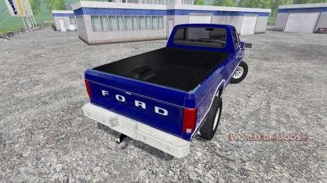 Ford Ranger F-150 1981 для Farming Simulator 2015