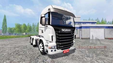 Scania R480 для Farming Simulator 2015
