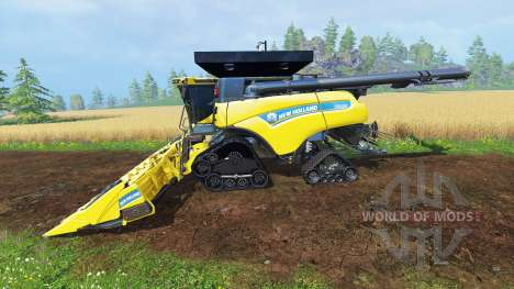 New Holland CR10.90 v4.0 для Farming Simulator 2015
