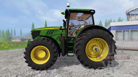 John Deere 6210R v2.0 для Farming Simulator 2015