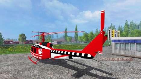 Bell UH-1D [YouTubers] для Farming Simulator 2015