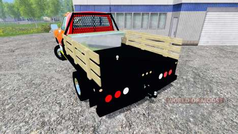 Dodge D-250 Flatbed для Farming Simulator 2015
