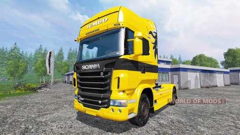 Scania R730 Jumbo для Farming Simulator 2015
