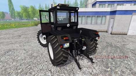 Mercedes-Benz Trac 1800 Intercooler [black] для Farming Simulator 2015