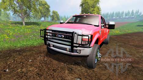 Ford F-350 [diesel] для Farming Simulator 2015