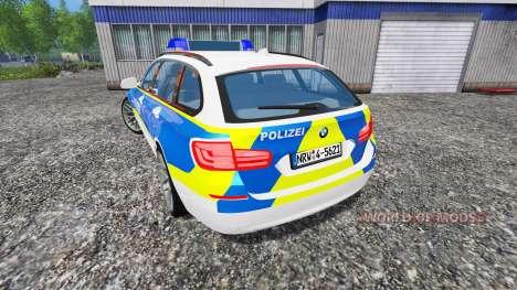 BMW 520d Police для Farming Simulator 2015