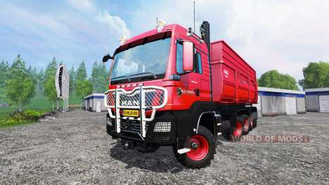 MAN TGS 10x8 v1.3 для Farming Simulator 2015