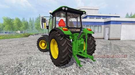 John Deere 5080R для Farming Simulator 2015