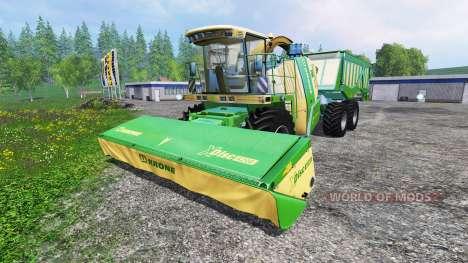 Krone Big X 650 Cargo для Farming Simulator 2015