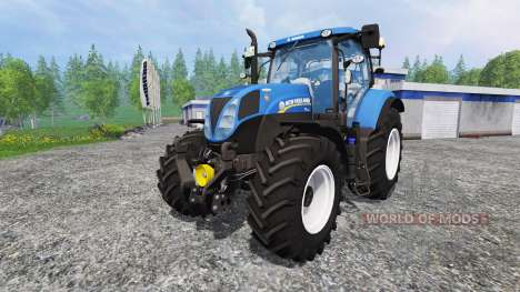 New Holland T7.185 для Farming Simulator 2015