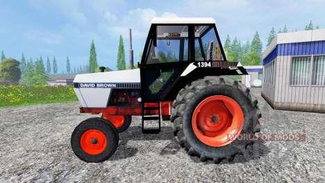 David Brown 1394 2WD для Farming Simulator 2015