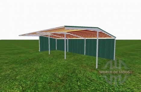 Навес v2.1 для Farming Simulator 2015