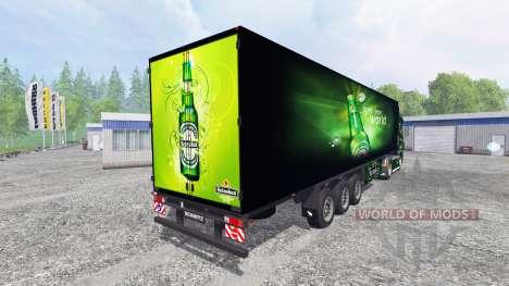 DAF XF Heineken для Farming Simulator 2015